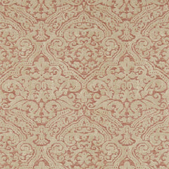 Renaissance Damask Russet behang Zoffany Selected wallpapers by OOSTENDORP