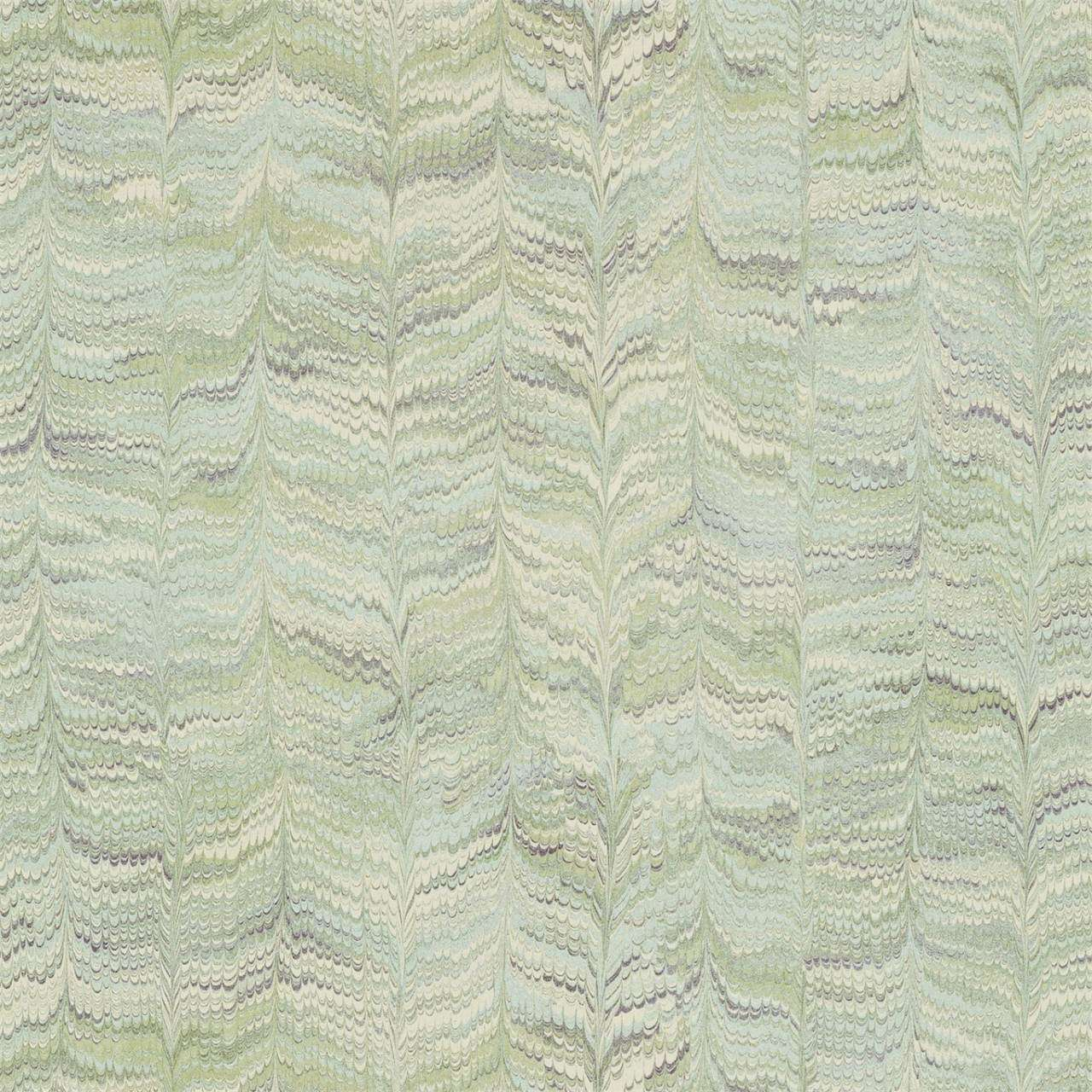 Jaipur Plain Jade behang Zoffany Selected wallpapers by OOSTENDORP
