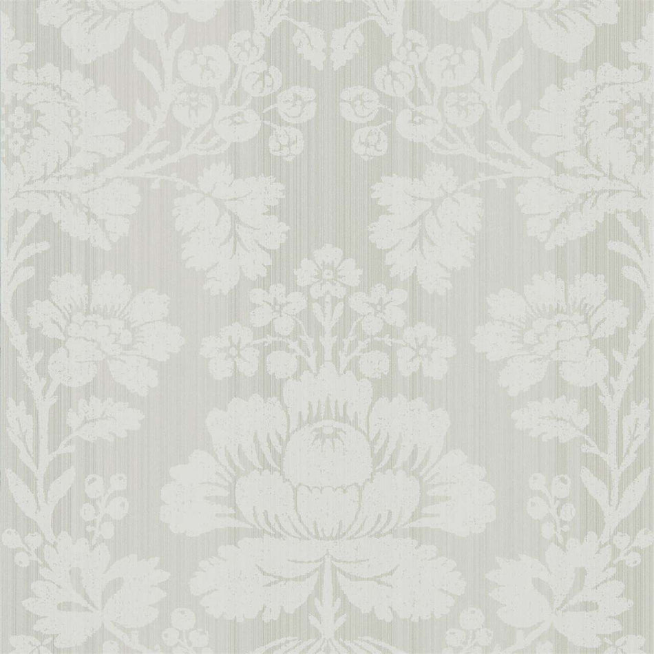 Beauvais Platinum Grey behang Zoffany Selected wallpapers by OOSTENDORP