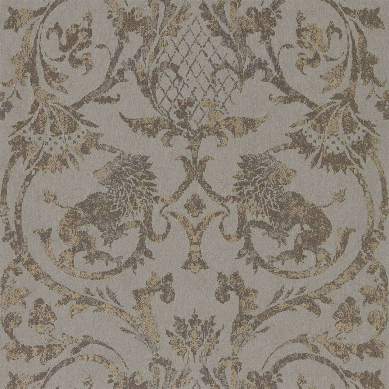 Landseer Antique Bronze behang Zoffany Selected wallpapers by OOSTENDORP