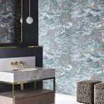 Stand Wood behang Zoffany Selected wallpapers by OOSTENDORP