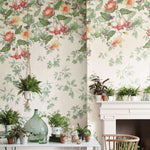 Asterid behang Little Greene Selected wallpapers by OOSTENDORP