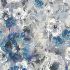Bloom Sapphire Behang 1838 wallcoverings Selected wallpapers by OOSTENDORP