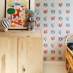 Bosdieren behang Behang Studio Ditte Selected wallpapers by OOSTENDORP