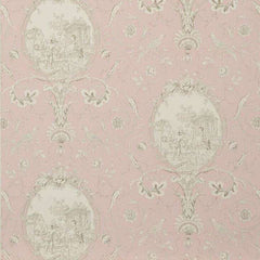 La Fontaine Antique Rose behang Braquenie Selected wallpapers by OOSTENDORP