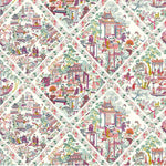 L'empire du milieu Multicolore behang Braquenie Selected wallpapers by OOSTENDORP
