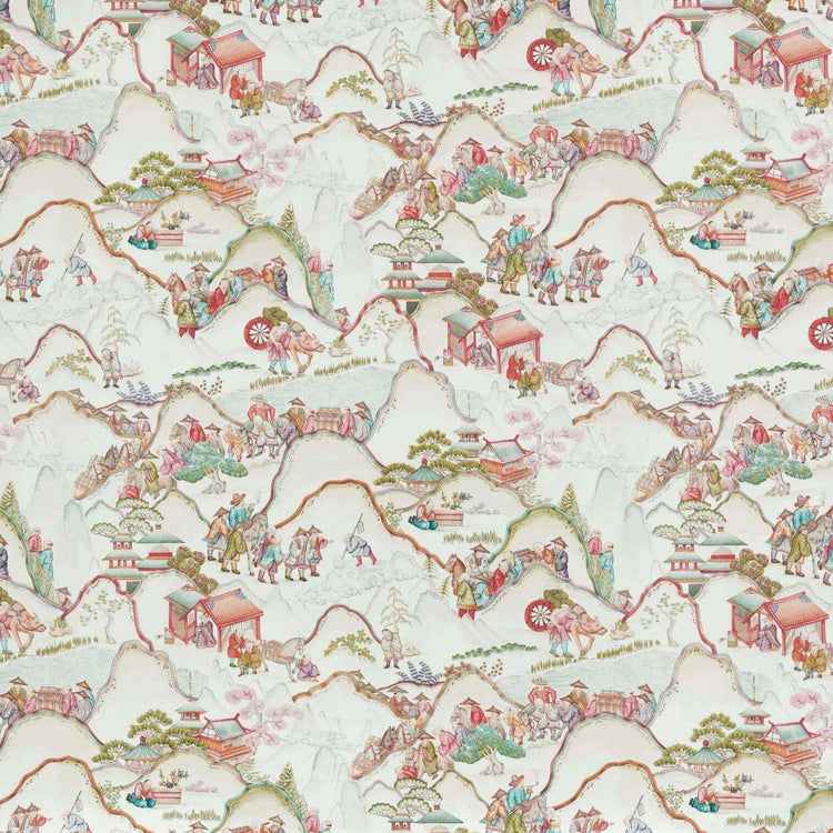 Les rizieres de shangbao Original behang Braquenie Selected wallpapers by OOSTENDORP
