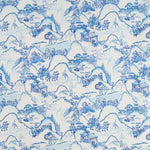 Les rizieres de shangbao Bleu de Chine behang Braquenie Selected wallpapers by OOSTENDORP