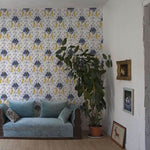 Brianda Fitz-James Stuart - Medieval Tapestry Behang Coordonne Selected wallpapers by OOSTENDORP