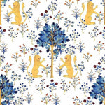 Brianda Fitz-James Stuart - Medieval Tapestry Pure White Behang Coordonne Selected wallpapers by OOSTENDORP