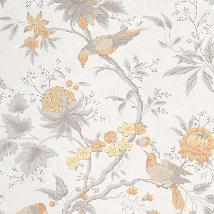 Brooke House Cinder behang Little Greene Selected wallpapers by OOSTENDORP