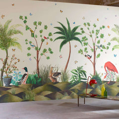 Canaima behang Pierre Frey Selected wallpapers by OOSTENDORP