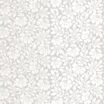 Carlisle Street Gentle Grey behang Little Greene Selected wallpapers by OOSTENDORP