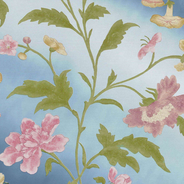 China Rose Blue Lustre behang Little Greene Selected wallpapers by OOSTENDORP