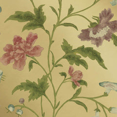 China Rose Emerald Lustre behang Little Greene Selected wallpapers by OOSTENDORP