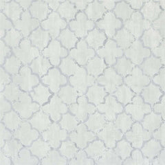 Chinese Trellis Platinum behang Designers Guild Selected wallpapers by OOSTENDORP