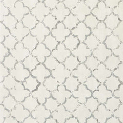 Chinese Trellis Slate behang Designers Guild Selected wallpapers by OOSTENDORP