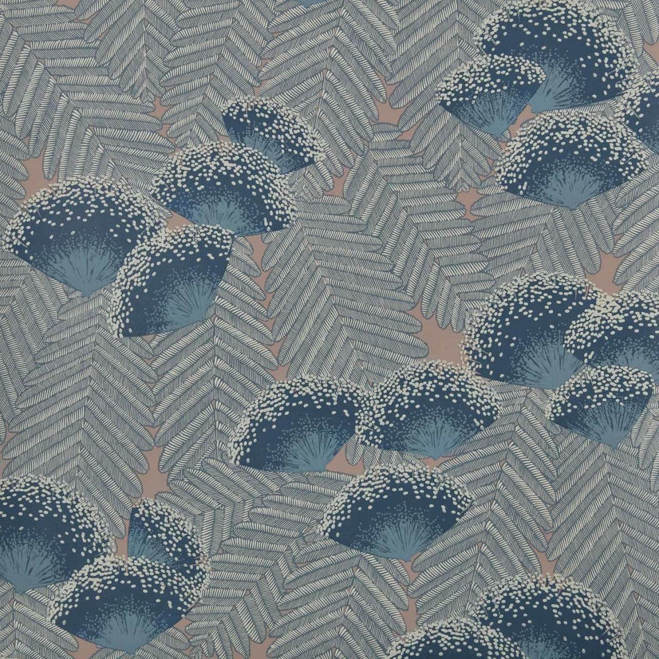 Clarise Soft Blue Behang 1838 wallcoverings Selected wallpapers by OOSTENDORP