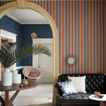 Colonial Stripe behang Little Greene Selected wallpapers by OOSTENDORP