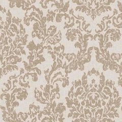 Damask CINNAMON BEIGE Behang Texam Selected wallpapers by OOSTENDORP