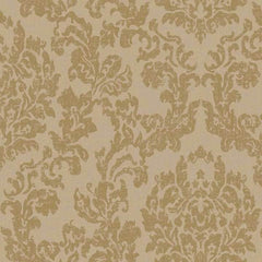 Damask WARM PLATINUM Behang Texam Selected wallpapers by OOSTENDORP