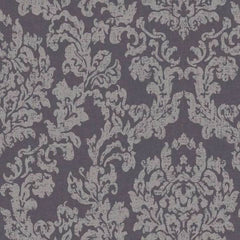 Damask INDIGO SILVER Behang Texam Selected wallpapers by OOSTENDORP