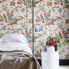Darwin behang Little Greene Selected wallpapers by OOSTENDORP