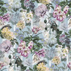 Delft Flower Grande Sky behang Designers Guild Selected wallpapers by OOSTENDORP
