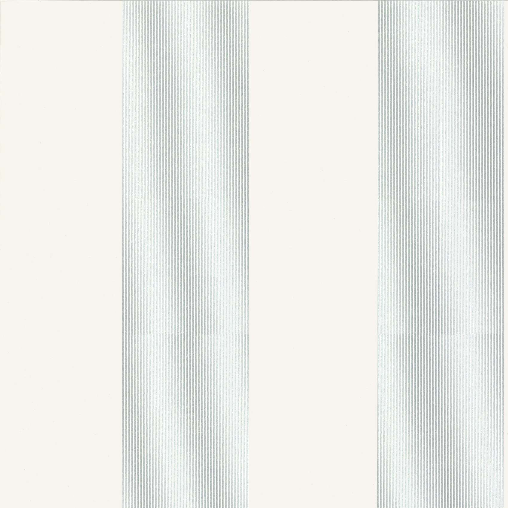 Elephant Stripe Bright White behang Little Greene Selected wallpapers by OOSTENDORP