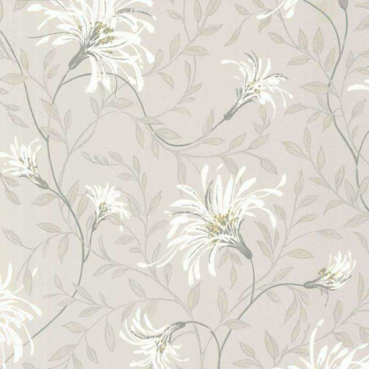 Fairhaven Grey Behang 1838 wallcoverings Selected wallpapers by OOSTENDORP