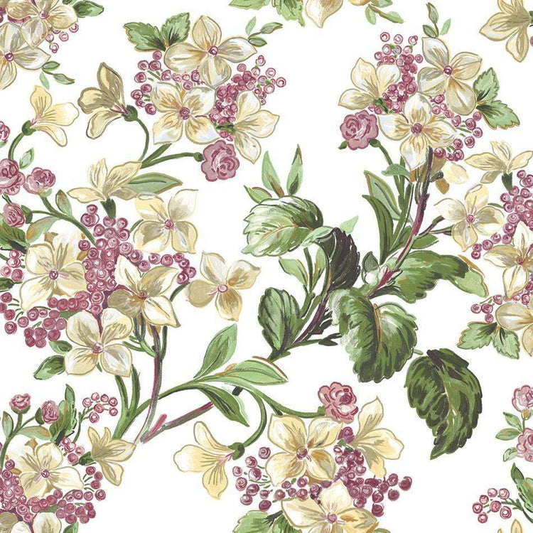 Flowery White behang Coordonne Selected wallpapers by OOSTENDORP