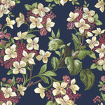 Flowery Navy behang Coordonne Selected wallpapers by OOSTENDORP