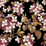 Flowery Black behang Coordonne Selected wallpapers by OOSTENDORP