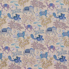Jardin de Mysore Bleu behang Pierre Frey Selected wallpapers by OOSTENDORP