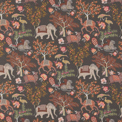 Jardin de Mysore Brun behang Pierre Frey Selected wallpapers by OOSTENDORP