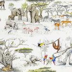 Masai Mara Original behang Pierre Frey Selected wallpapers by OOSTENDORP