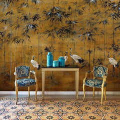 Garzas Behang Coordonne Selected wallpapers by OOSTENDORP