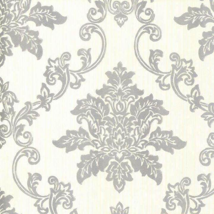 Hampton Silver Behang 1838 wallcoverings Selected wallpapers by OOSTENDORP