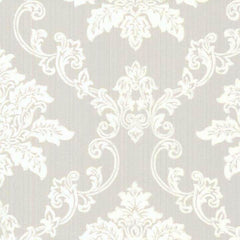 Hampton Grey Behang 1838 wallcoverings Selected wallpapers by OOSTENDORP