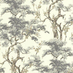 Harewood Grey Behang 1838 wallcoverings Selected wallpapers by OOSTENDORP