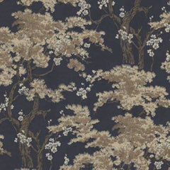 Harewood Navy Behang 1838 wallcoverings Selected wallpapers by OOSTENDORP