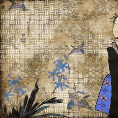 Hiroshi Tsunoda - Geisha Graffiti Kage Behang Coordonne Selected wallpapers by OOSTENDORP