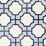 Imperial Gates Periwinkle and navy behang Phillip Jeffries Selected wallpapers by OOSTENDORP