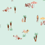Isabelle Feliu - One day at the Beach Ocean Behang Coordonne Selected wallpapers by OOSTENDORP