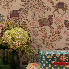 Jardin de Mysore behang Pierre Frey Selected wallpapers by OOSTENDORP