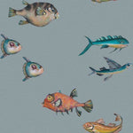 Joana Santamans - Peces Santamans Powder Behang Coordonne Selected wallpapers by OOSTENDORP