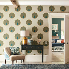 Kalapi behang Sanderson Selected wallpapers by OOSTENDORP