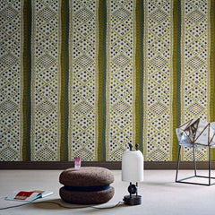 La yourte du nomade behang Pierre Frey Selected wallpapers by OOSTENDORP