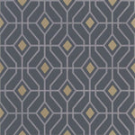 Laterza Graphite behang Designers Guild Selected wallpapers by OOSTENDORP
