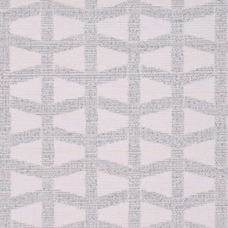 Lattice Silver behang Phillip Jeffries Selected wallpapers by OOSTENDORP